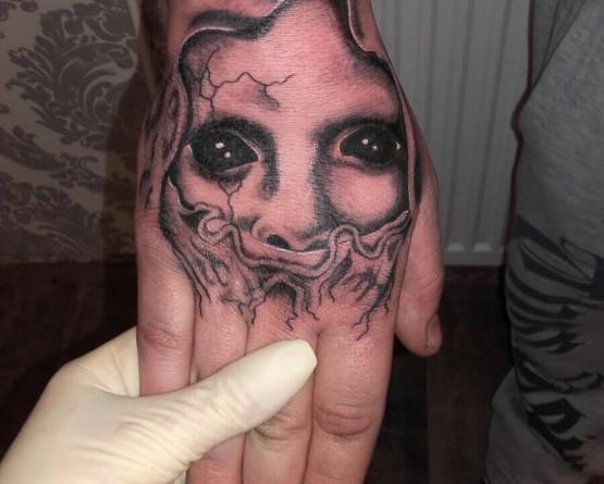 Dämonisches Gesicht