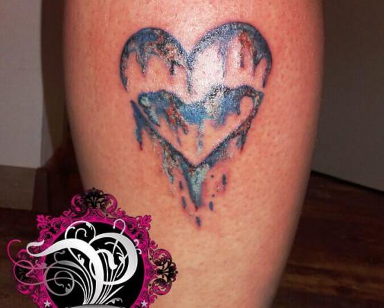 Aquarell Herz