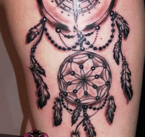 Traumfänger Kompass