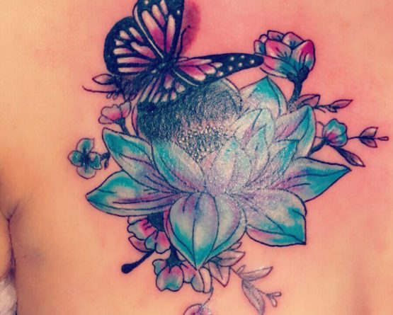 Cover Up Schmetterling