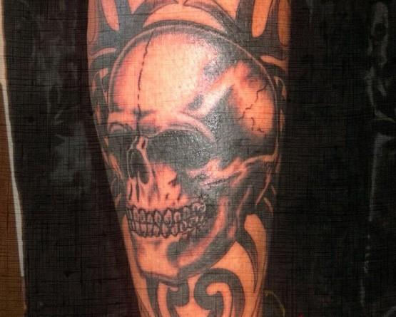 Skull & Traibal