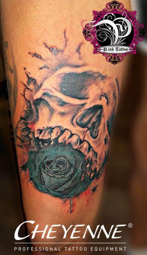 Crazy Skull Rose