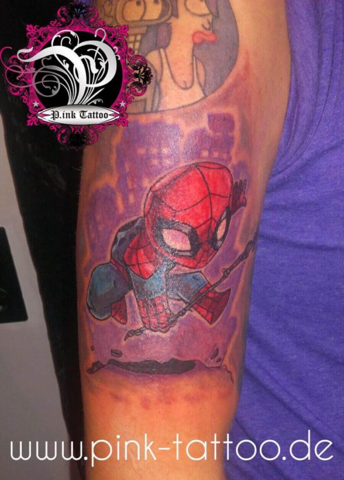 Spiderman Comic Color