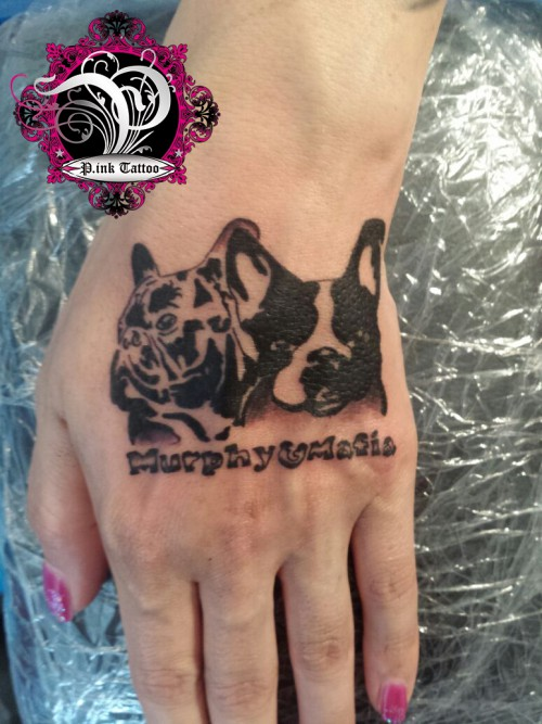 "French Bulldog ""Murphy & Mafia"""