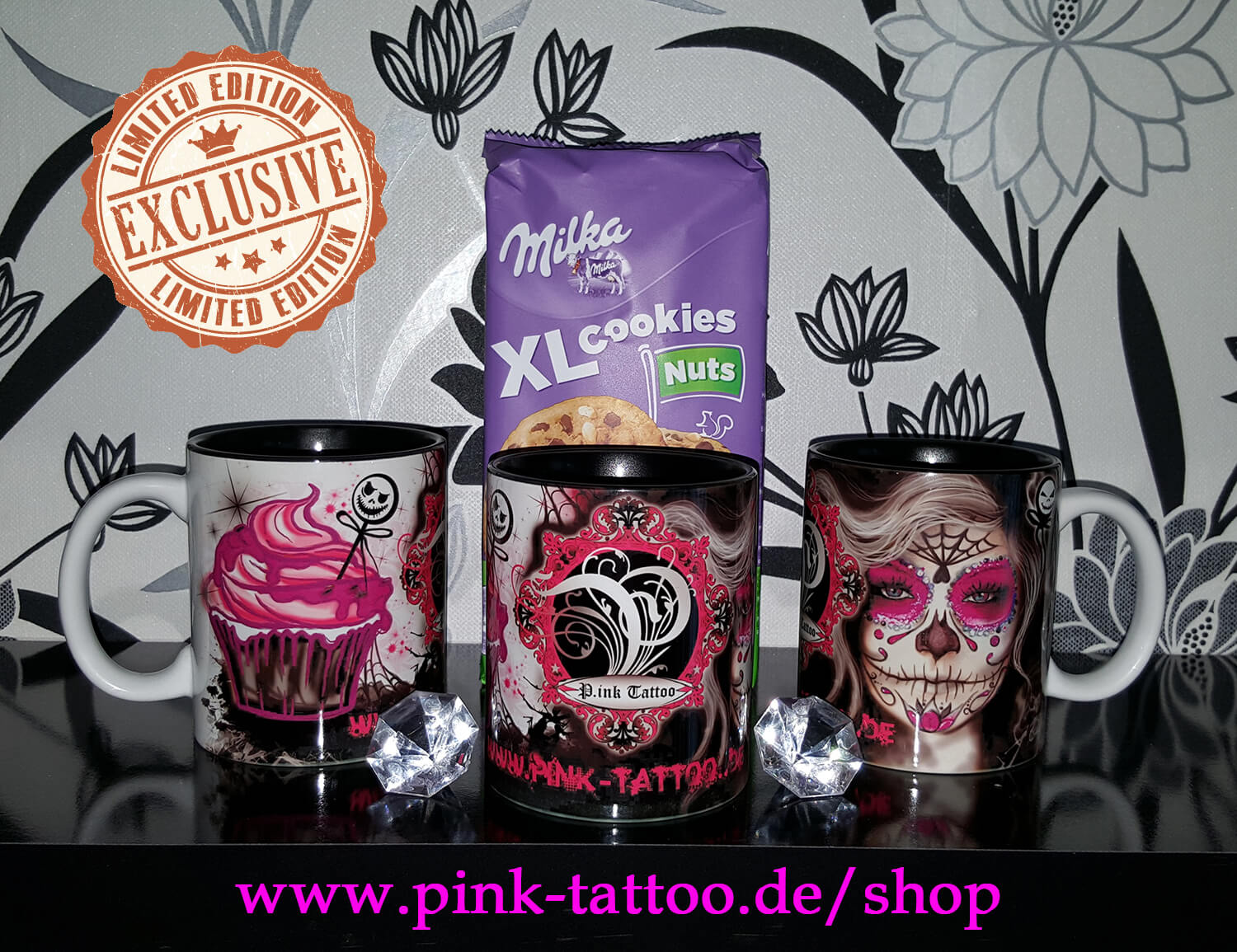 P.ink Tattoo Studio Kaffeetasse