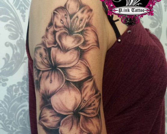 Blumen - Freehand Tattoo