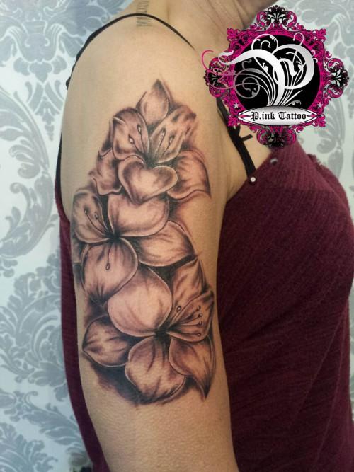 Blumen - Freehand Tattoo