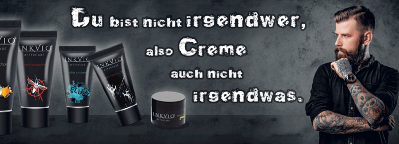 Inkvio Aftercare Tattoopflege