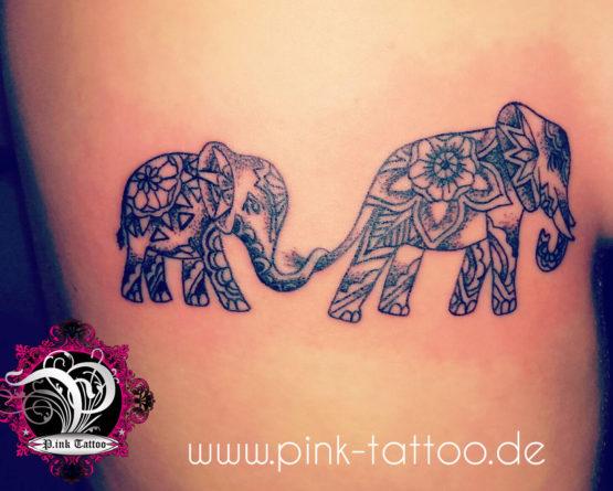Mandala Elefanten