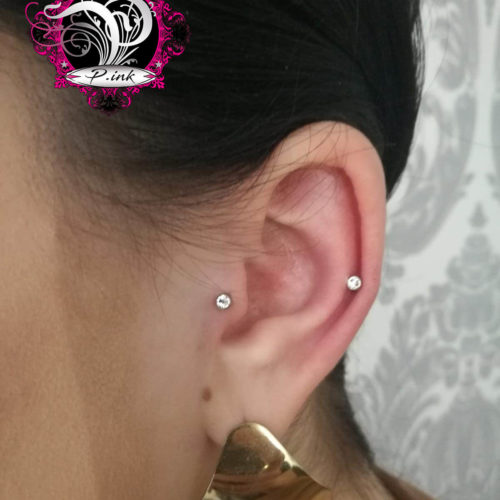 Tragus Conch Helix Piercing
