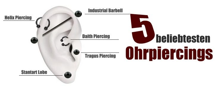Ohrpiercings